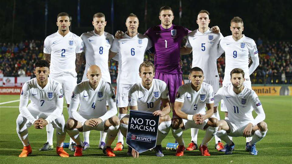 The-England-team-that-played-Lithuania