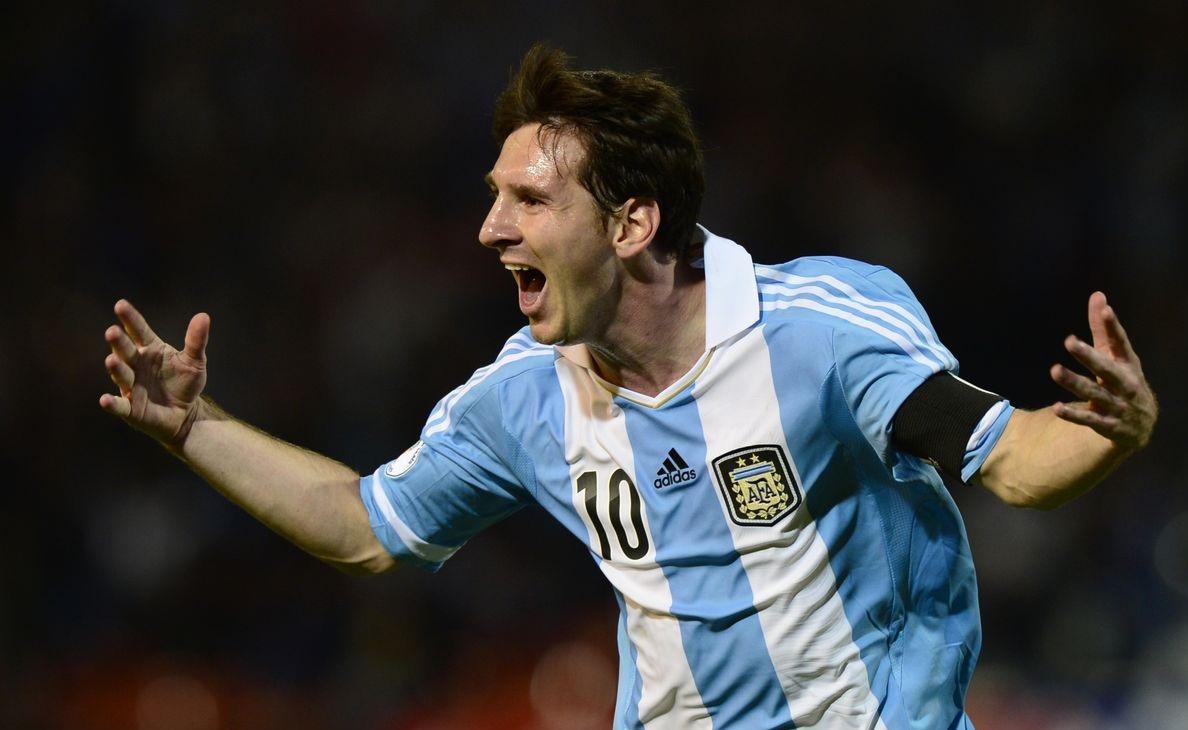 Lionel Messi, 1990s, Argentina