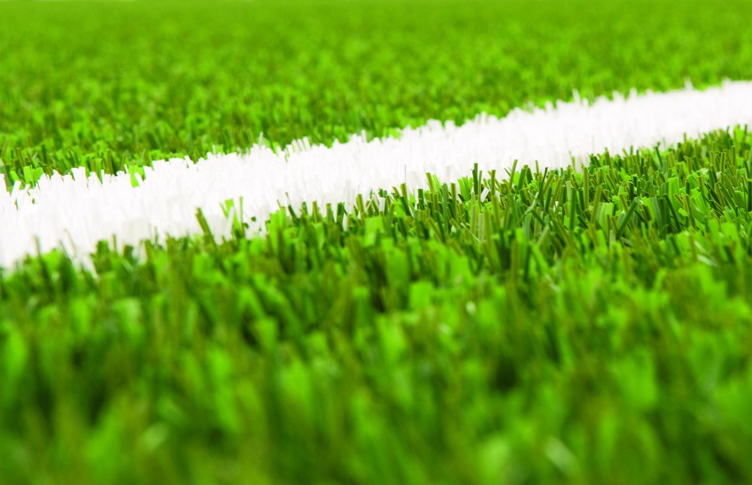 green grass football field. Banner Green Grass Football Field M