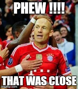 Robben Relieved