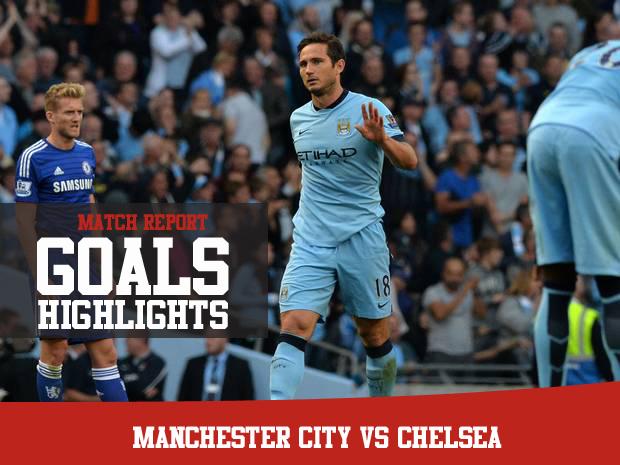Chelsea Vs Manchester City: Match Report Manchester City Vs Chelsea