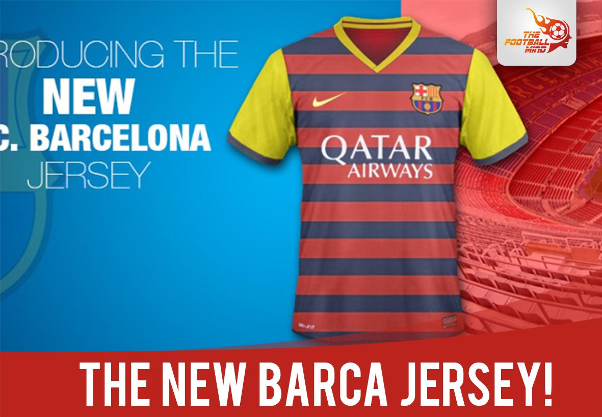 FC Barcelona 2015 kits revealed! Jan 25 cc114d313